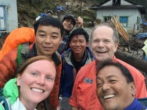 Chhring Ngima Don Kellie selfie
